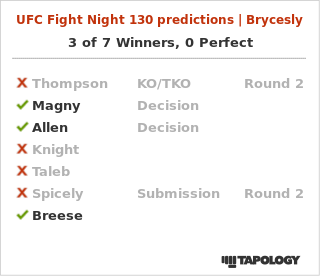 Coast MMA Predictions for UFC Fight Night Stephen Thompson vs. Darren Till