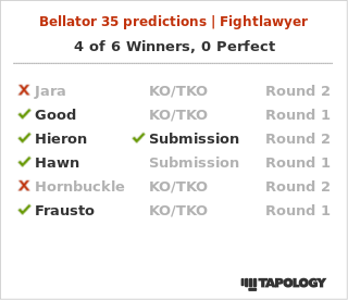 My Bellator 35 Predictions